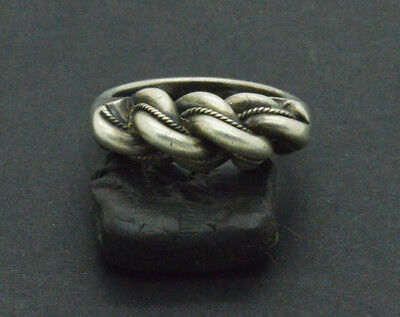 Post medieval Silver Ring. 18 Century 11gr.
