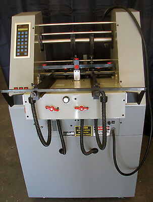 COUNT CS-M121t TICKET MASTER. Numbering machine/perf/score, air feed.