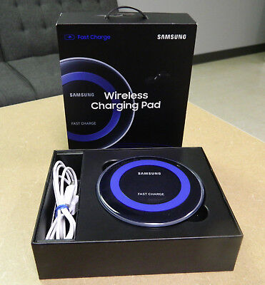 Samsung Qi Certified Fast Charge Wireless Charger EP-PN920 Black & Blue - NICE