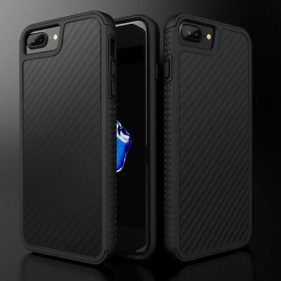Luxury Hybrid Shockproof Case TPU + Hard PC Protective Cover for iPhone 7 8 Plus