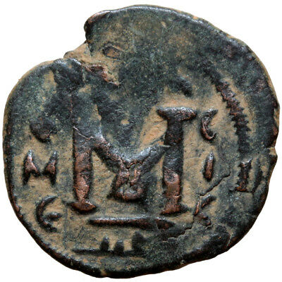 Arab pseudo Byzantine coin AE Early Caliphate (636-660) Damascus