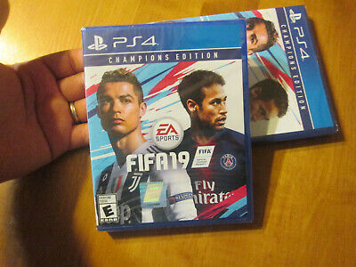 Fifa 19 Champions Edition Ps4 Sony Ronaldo Neymar New Factory Sealed Soccer
