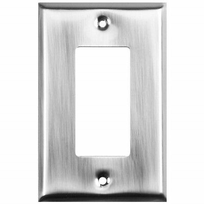 Stanley Home Designs (S824-490) 4-Pack Satin Nickel Plated Wall Plate