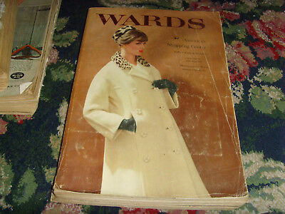 Vintage Montgomery Ward catalog fall winter 1960 Christmas retro fashions fun