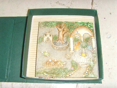 Picturesque Byron's Secret Garden Gourmet Gazebo tile figurines magnet Premiere