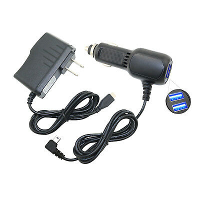Car Charger AC//DC Adapter Power Cord For Garmin GPS nuvi 2455 LM//T 2455T