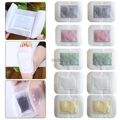 10pcs Adhesive Detox Foot Patches Pads Sticker Body Toxins Keep Fit WST