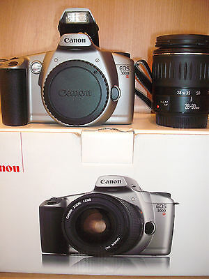 Bxd Canon Eos 3000N 35Mm Film Camera & Bxd Canon Ef 28-90Mm/f4-5.6 Ii Lens 19M13