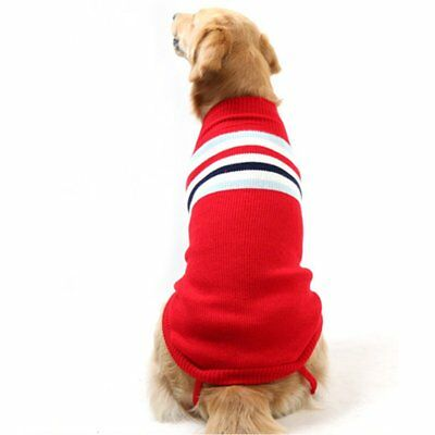 Fashion Pet Dog Warm Sweater Jumper Puppy Winter Clothes Coat Jecket Apparel TU