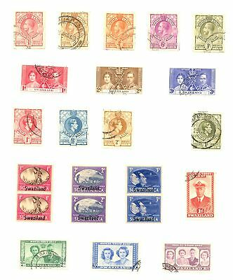 Swaziland Collection 90 Stamps --Most */0 --Most Vf