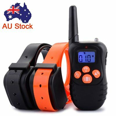 Anti Bark Dog Remote Training Barking Collar Waterproof Rechargeable Pet Trainer