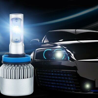 H7  LED Bulbs 200W 20000LM Car Headlight Kit 6000K Driving Lamps White COB