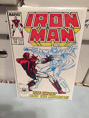 Iron Man 219 220 221 239 240 Lot/Run (1987, Marvel) 1st Ghost Ant-Man Wasp NM