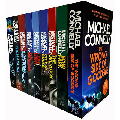 Harry Bosch Series Michael Connelly 8 Books Collection Set Reversal,Narrows NEW