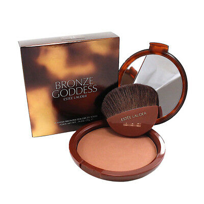 Estee Lauder Bronze Goddess Powder Bronzer 04 Deep 0.74 Oz.