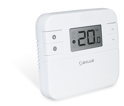 SALUS RT310 Central Heating Room Thermostat Digital LCD Screen Hard Wired Stat