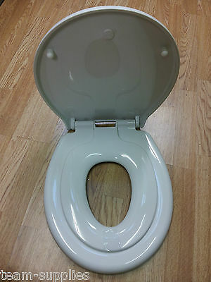 Family White Wc Slow Soft Close Adult Child Potty Training Toilet Seat Top Fix