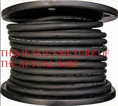 New 100' 8/3 Soow So Soo  Black Rubber Cord Extension Wire