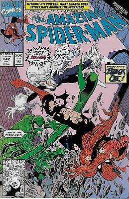 The Amazing Spider-Man (Vol.1) No.342 / 1990 David Micheline & Erik Larsen