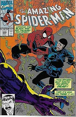 The Amazing Spider-Man (Vol.1) No.349 / 1991 David Micheline & Erik Larsen