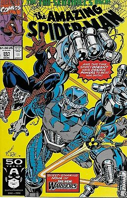 The Amazing Spider-Man (Vol.1) No.351 / 1991 Nova / David Micheline Mark Bagley