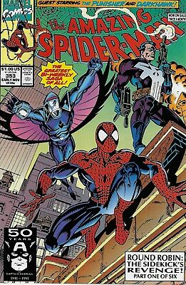 The Amazing Spider-Man (Vol.1) No.353 / 1991 Punisher / Al Milgrom & Mark Bagley