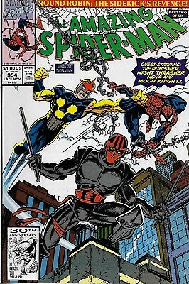 The Amazing Spider-Man (Vol.1) No.354 / 1991 Punisher / Al Milgrom & Mark Bagley