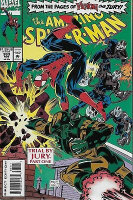 The Amazing Spider-Man (Vol.1) No.383 / 1993 David Micheline & Mark Bagley