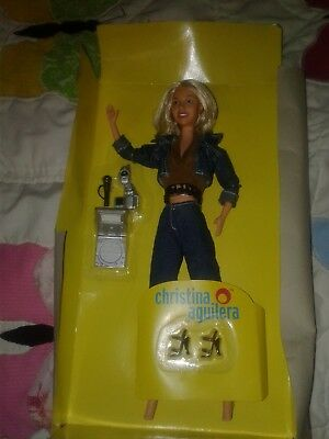 "Christina Aguilera ""genie In A Bottle"" Music Singing Barbie Doll"