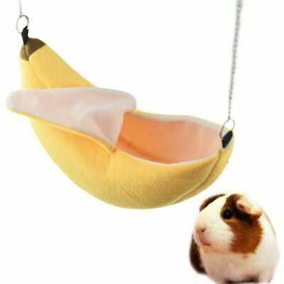 Banana Hamster Bed House Hammock Warm Squirrel Hedgehog Guinea Pig Bed House