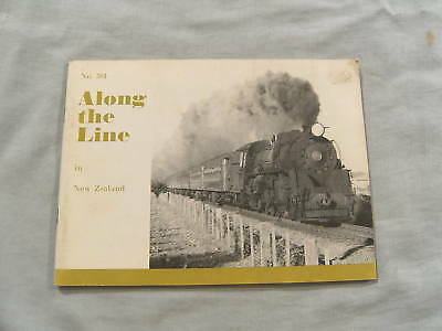 #Aa.  Railway Booklet - 1972 Along The Line In New Zealand