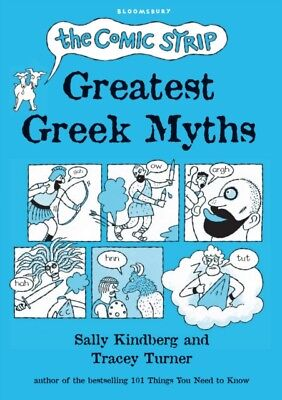 The Comic Strip Greatest Greek Myths (Hardcover), Turner, Tracey,...