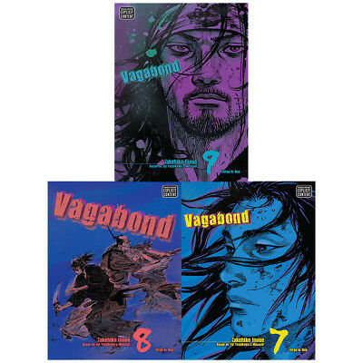 Vagabond vizbig ed gn Series 3 Book 7,8,9 : 3 Books Collection Set(3 in 1) NEW