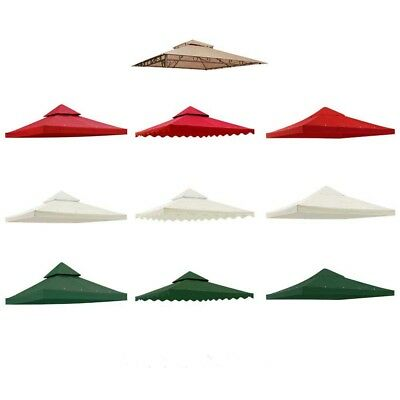 Gazebo Top Canopy Replacement Cover Patio Outdoor Tent 8x8 10x10 1-Tier / 2-Tier