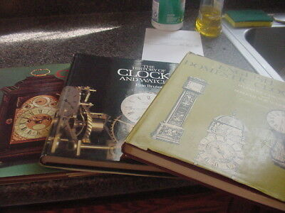 Clock Books (3) Bruton ,Jagger and Webster Large books Must See