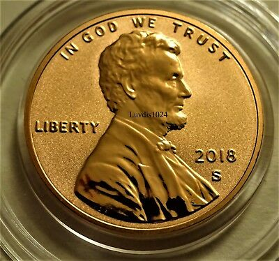 2018 S San Francisco Reverse Proof Lincoln Penny Limited Mintage SOLD OUT