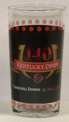 New 2014 Official Kentucky Derby Glass - Excellent Condition! California Chrome