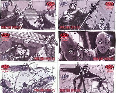 Batman And Robin Widevision  24 Card Story Board Chase Set ..choose