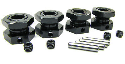 VORZA HP 17mm WHEEL HEX HUBS & NUTS 67486 67492 (set screws , pins ) HPI #101850
