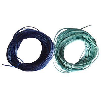 20m Waxed Nylon String Beading Beads Jewelry Making Cord Crafts DIY Supplies