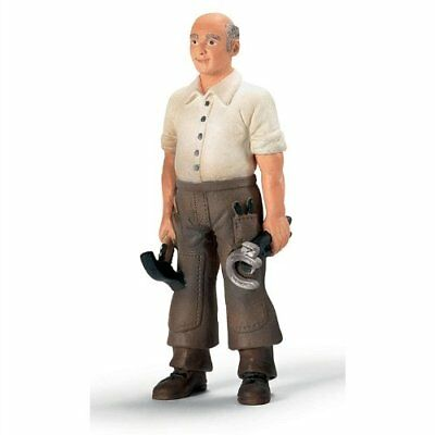 BLACKSMITH by Schleich/ toy horse accessories/ 13446/ RETIRED