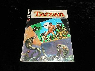 Tarzan géant 22 grand format sagédition 1975