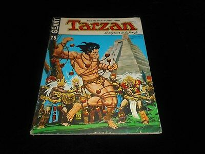 Tarzan géant 29 grand format sagédition 1976