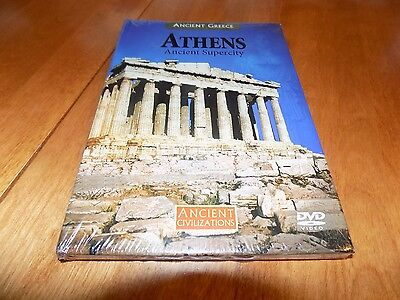 ANCIENT CIVILIZATIONS ATHENS ANCIENT SUPERCITY Greece History Channel DVD NEW