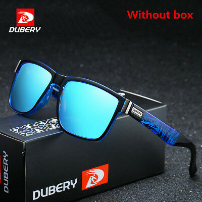 DUBERY Mens Polarized Sport Sunglasses Outdoor Riding Fishing Summer Goggles F9