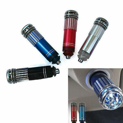 New Universal Auto Car Fresh Air Ionic Purifier Oxygen Bar Ozone Ionizer Cleaner