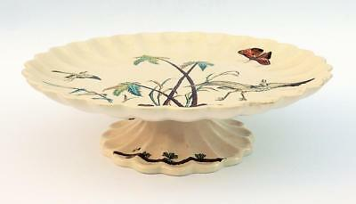 AESTHETIC MOVEMENT Anglo Japanese POTTERY LOW TAZZA c1885 COPELAND