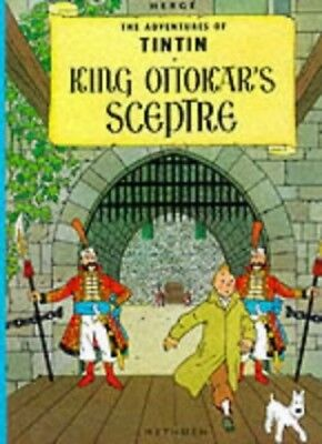 King Ottokar's Sceptre (The Adventures of Tintin) by Herge Hardback Book The