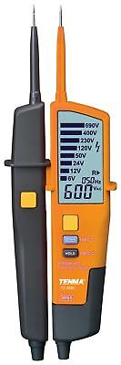 Voltage Continuity Tester with RCD Test & LCD Display - 6V to 690V