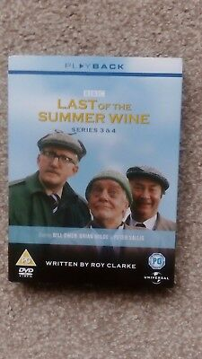 Last of the Summer Wine: The Complete Series 3 and 4 - DVD